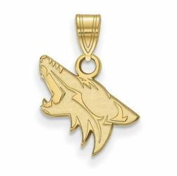 10ky nhl arizona coyotes small pendant