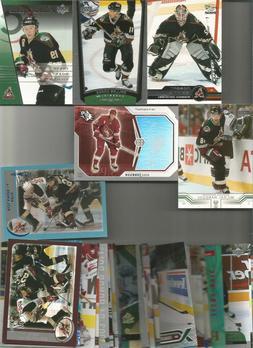 1990-2006 ARIZONA COYOTES HOCKEY 200+   CARD LOT