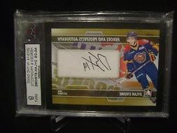 2013-14 ITG H&P DYLAN STROME GRADED AUTOGRAPH AUTO HEROES &