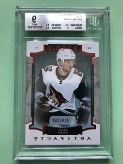2015-16 ARTIFACTS RC RUBY RED #207 MAX DOMI 19/399 BGS Grade