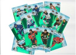 2018-19 Upper Deck Ice Hockey GREEN parallel Complete your s
