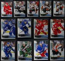 2018-19 Upper Deck Series 1  W/ Young Guns Hockey Cards Comp