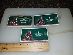 Arizona Coyotes Hockey Luggage Tags America West Airlines P