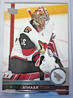 Arizona Coyotes 2017-2018 Upper Deck NHL Trading Cards - You