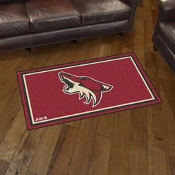 Arizona Coyotes 3' X 5' Decorative Ultra Plush Carpet Area R