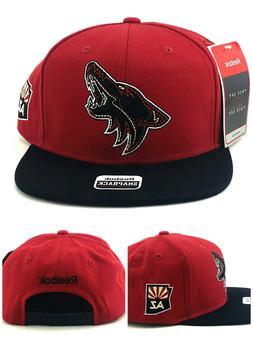 Arizona Coyotes AZ New Reebok Shadow Sedona Red Black Era Sn