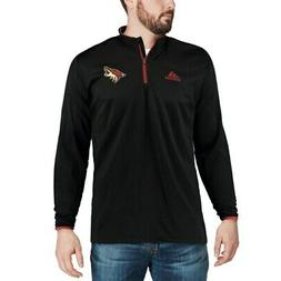 adidas Arizona Coyotes Black climalite Quarter-Zip Pullover
