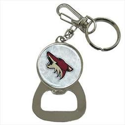 Arizona Coyotes Bottle Opener Keychain - NHL Hockey