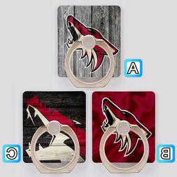 Arizona Coyotes Cell Phone Holder Ring Stand Mount Accessori
