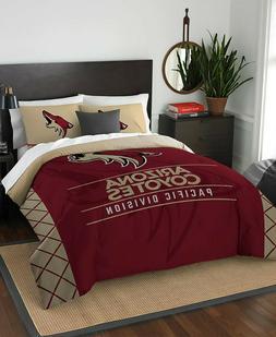 Arizona Coyotes Full Queen NHL Hockey Comforter Pillow Sham
