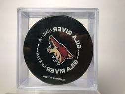 Arizona Coyotes Gila River Arena 9/10/14 Commemorative Hocke
