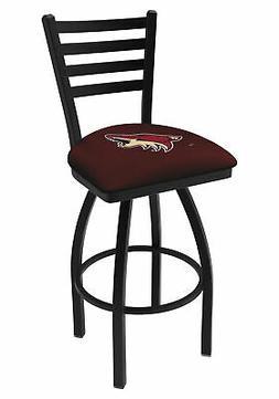 Arizona Coyotes HBS Black Ladder Back High Top Swivel Bar St