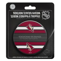 Arizona Coyotes Hockey Puck Media Device Holder Home/Office