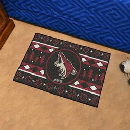 """Arizona Coyotes Holiday Sweater Design 19"""" X 30"""" Starter Are"""