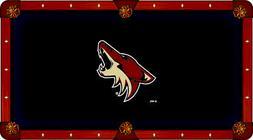 Arizona Coyotes Holland Bar Stool Co. Red Billiard Pool Tabl