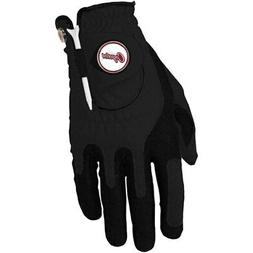 Arizona Coyotes Left Hand Golf Glove & Ball Marker Set - Bla