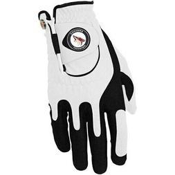 Arizona Coyotes Left Hand Golf Glove & Ball Marker Set - Whi