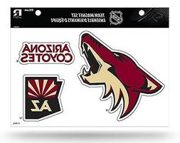 Arizona Coyotes Multi Die Cut Magnet Sheet Heavy Duty Auto H