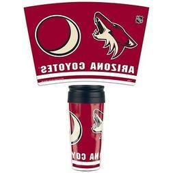 Arizona Coyotes Wincraft  NHL 16oz Contour Travel Mug FREE S