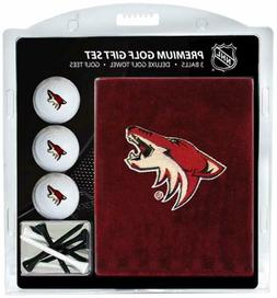 Arizona Coyotes NHL Gift Set Embroidered Golf Towel, 3 Golf