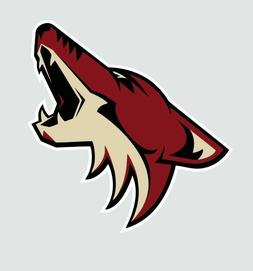 Arizona Coyotes NHL Hockey Full Color Logo Sports Decal Stic