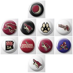ARIZONA COYOTES - NHL hockey pinback buttons - sports team p