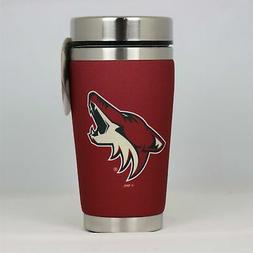 Arizona Coyotes Mugzie NHL Hockey Team Logo 16oz Travel Tumb