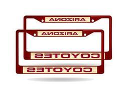 Arizona Coyotes NHL  Maroon Metal Laser Cut License Plate Fr