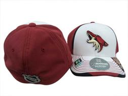 Arizona Coyotes Reebok NHL Wte/Red Structured FlexFit Hat Ca
