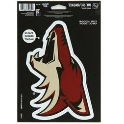 "Arizona Coyotes WinCraft Primary 6"" x 9"" Car Magnet"