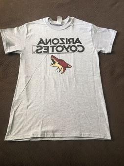 Arizona Coyotes T-Shirt Grey Men's Small Brand New!!!