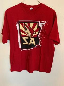 Arizona Coyotes T Shirt Mens XL Cotton NWOT