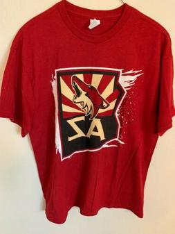 Arizona Coyotes T Shirt XL Cotton NWOT