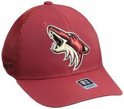 Arizona Coyotes Trucker Ball Cap Hat~GREEN~Reebok~FlexFit L/