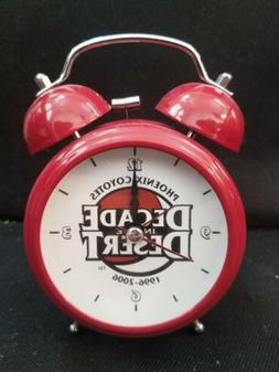 Arizona / Phoenix Coyotes 10 year anniversary alarm clock &
