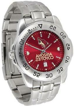 gametime arizona coyotes sport steel watch