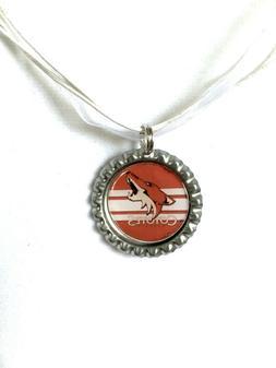 HOCKEY FANS!!  Arizona COYOTES Hockey Necklace