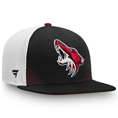 arizona coyotes black white iconic spring emblem