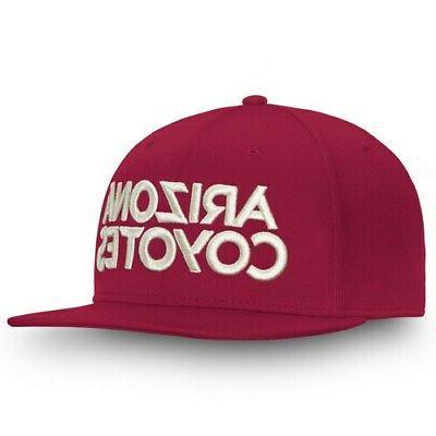 Fanatics Arizona Coyotes Garnet Depth Adjustable Hat