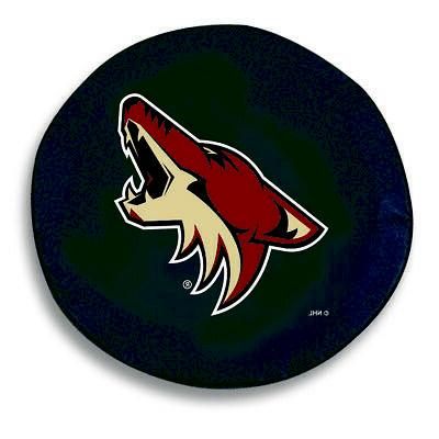 arizona coyotes hbs black vinyl fitted spare