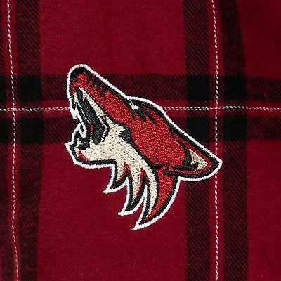 Arizona Coyotes Sport Homestretch Flannel - Garnet/Black
