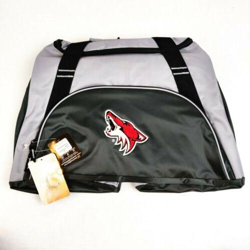 arizona coyotes nhl action duffle bag black