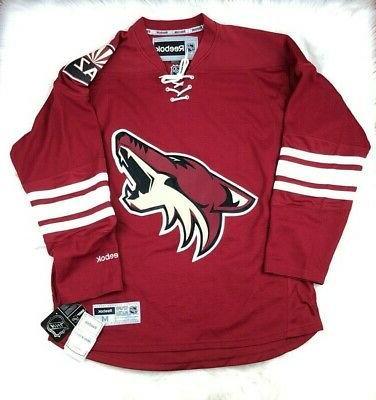 arizona coyotes nhl premier nhl hockey jersey