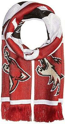 - NHL SP17 Repeating Logo Jacquard Scarf