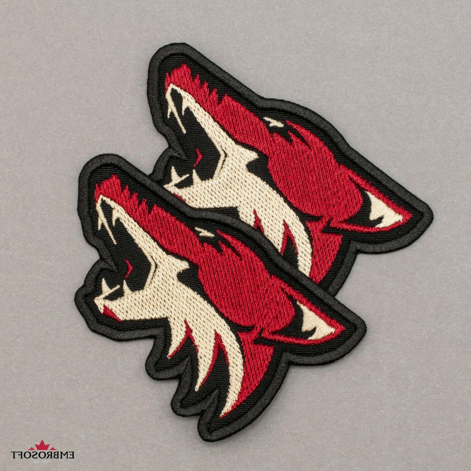 🏒Arizona Coyotes Patch, NHL Sports Team Hockey Logo