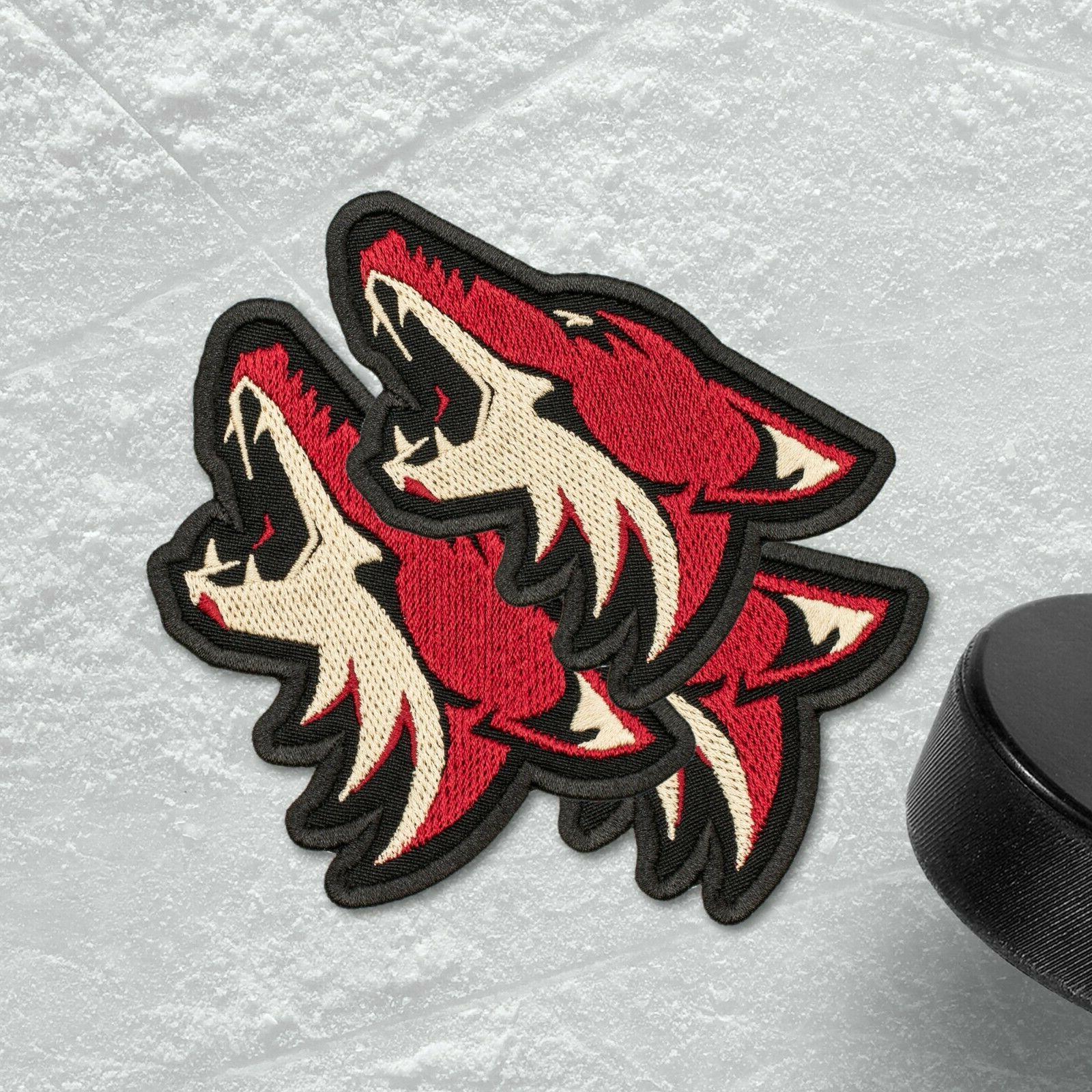 🏒Arizona Sports Emblem, Embroidered Hockey Logo