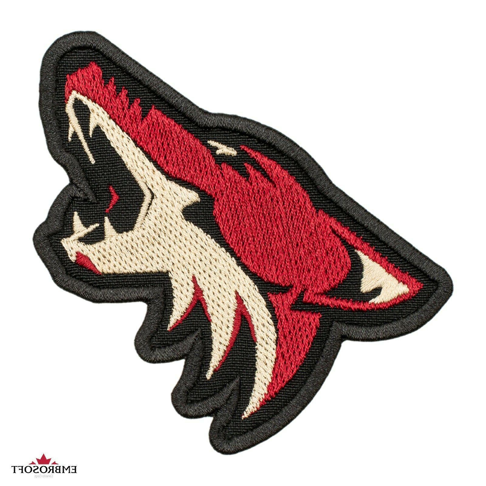 arizona coyotes patch nhl sports team emblem