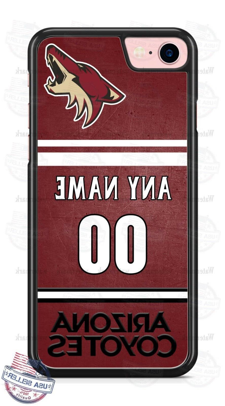 custom arizona coyotes phone case cover name