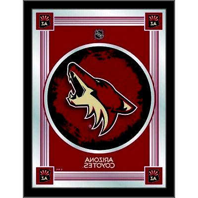 nhl arizona coyotes 17 x 22 logo