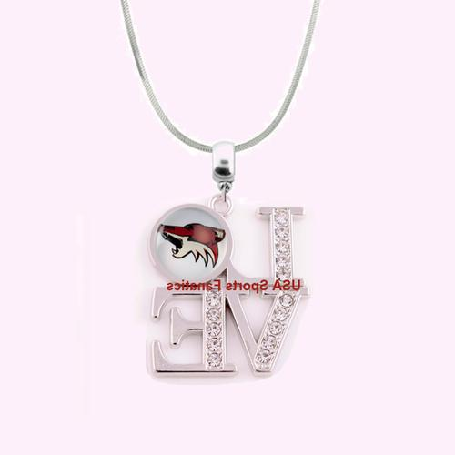 nhl arizona coyotes 925 sterling silver team